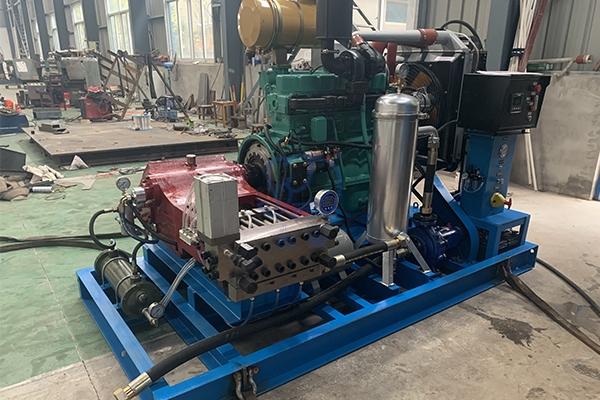 湖北柴油机驱动高压清洗机